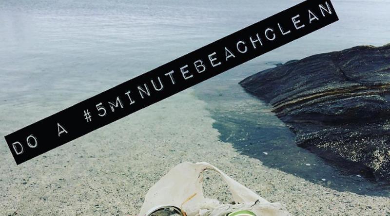 @5minutebeachcleanup, un compte instagram pour encourager les internautes à nettoyer les places