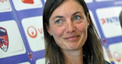 Corinne Diacre, nouvelle sélectionneur des Bleues, équipe de France féminine de football