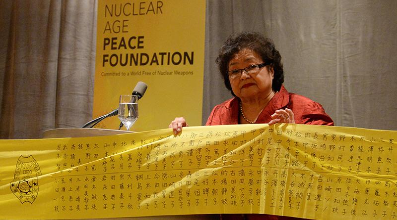 Setsuko Thurlow n'avait que 13 ans lorsque la première bombe nucléaire de l'histoire a été larguée sur sa ville d'Hiroshima le 6 août 1945, à un kilomètre et demi de l'endroit où elle se trouvait.