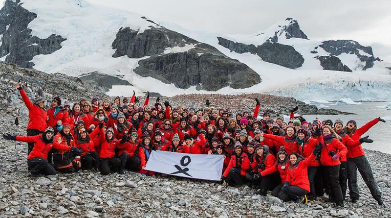 Oli Sansom - 78 femmes scientifiques réunies en Antarctique pour valoriser le travail des femmes, Homeward Bound