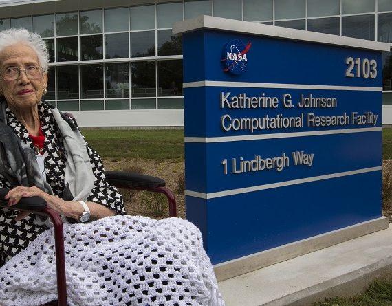 La mathématicienne Katherine G. Johnson, qui a inspiré «Hidden Figures», honorée par la NASA
