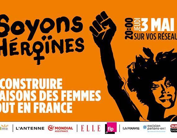 Soyons Des Héroïnes : un concert connecté pour lutter contre les violences faites aux femmes